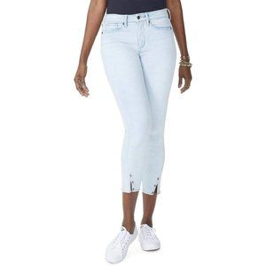 NYDJ Ami Skinny Ankle Jeans with Twisted Side Seam